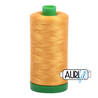 Aurifil 40 Cotton Thread - 2140 (Marigold)